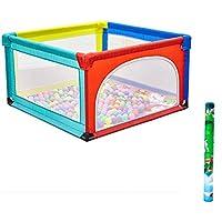ベビーサークル 幼児のベッドの安全柵のベビーベビーサークルポータブル子供は庭屋内キッズプレイヤードは、ペンの遊び場を再生し (サイズ さいず : 120x120x68cm)