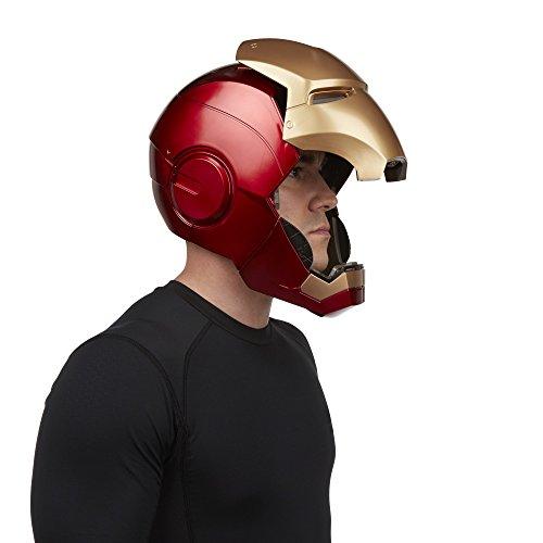 『ハズブロレプリカ マーベル・レジェンド / アイアンマン エレクトロニック ヘルメット』の12枚目の画像
