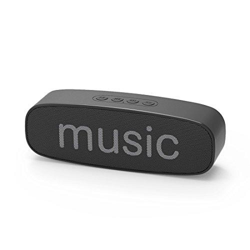 Bluetooth4.2 スピーカー ポータブル ワイヤレス ステレオ スピーカー ブルートゥース 高音質 強化された重低音 大音量 ハンズフリー通話対応 USBメモリー 再生 AUXオーディオケーブル有線再生 ワイヤレス再生 micro SDカード再生などが可能 高品質マイク内蔵 日本語取扱説明書付き [更新版]