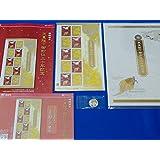 【新品・未開封】天皇陛下御即位三十年記念切手帳・特殊切手・A4,A5リーフレット・天皇陛下御在位30年記念硬貨 500円 5点セット