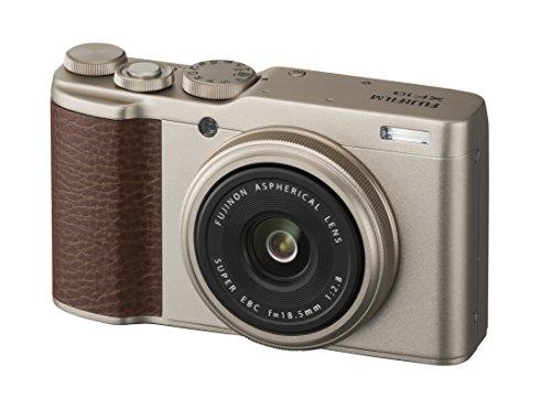 富士フイルム デジタルカメラ XF10 シャンパンゴールド X...