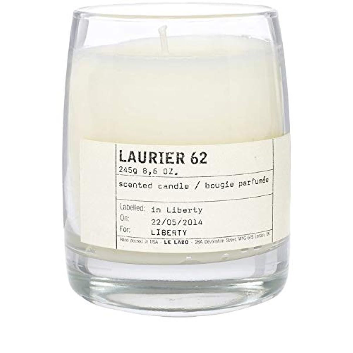 幻影スリッパ飛行場[Le Labo ] ルラボローリエ62古典的なキャンドル - Le Labo Laurier 62 Classic Candle [並行輸入品]