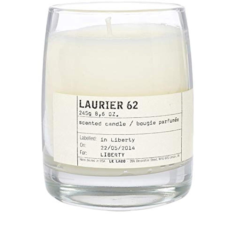 合法正確な絶縁する[Le Labo ] ルラボローリエ62古典的なキャンドル - Le Labo Laurier 62 Classic Candle [並行輸入品]