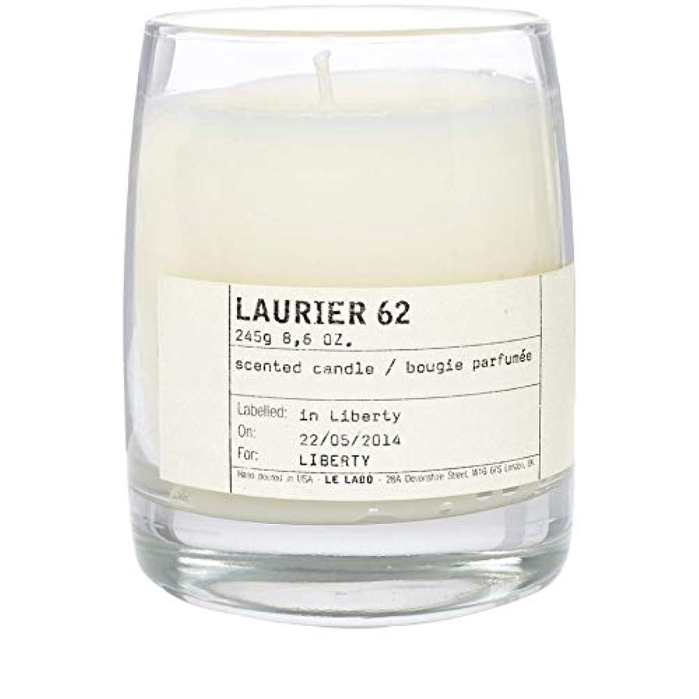 消化器自発捨てる[Le Labo ] ルラボローリエ62古典的なキャンドル - Le Labo Laurier 62 Classic Candle [並行輸入品]