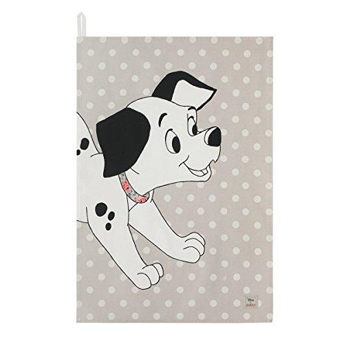 Cath Kidston (キャスキッドソン) x Disney (ディズニー) 101匹わんちゃん パピー ティータオル キッチンクロス Dalmatians [並行輸入品]