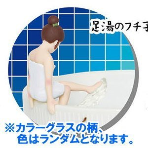 コップのフチ子 フィギュアマスコット 温泉バージョン カラー...