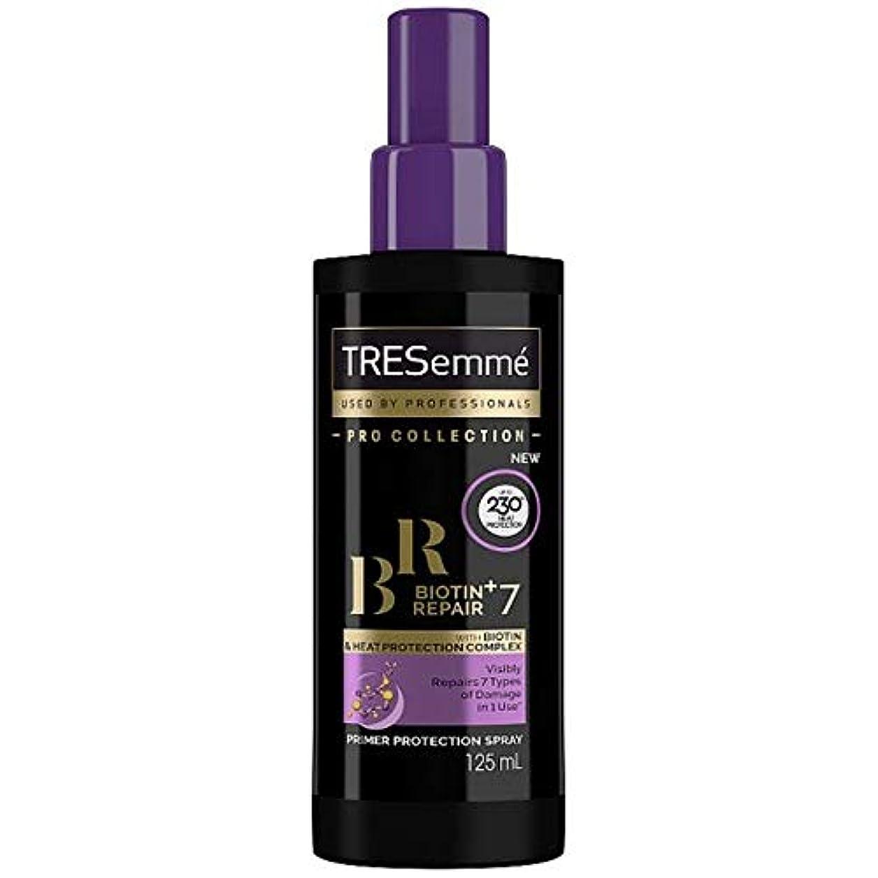 化粧けん引素人[Tresemme] Tresemmeビオチン+修理7プライマー保護スプレー125ミリリットル - Tresemme Biotin+ Repair 7 Primer Protection Spray 125ml [並行輸入品]