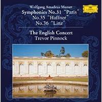 モーツァルト:交響曲第31番&第35番&第36番