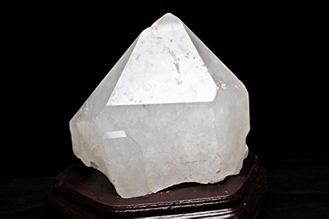 ロマンチック骨折アラーム6.1Kg 虹入り レムリアンシード水晶 六角柱【S1-175】