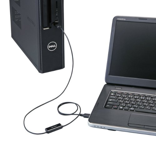 ELECOM リンクケーブル WindowsXP - Windows7 / 8 データ移行 ブラック UC-TV3BK