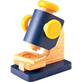 木製顕微鏡  MICROSCOPE