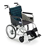MiKi(ミキ)アルミ製車椅子 BAL-8SP