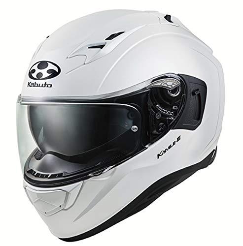 OGK KABUTO (オージーケーカブト) バイクヘルメット フルフェイス KAMUI3 パールホワイト 584634 B07R1L32Y9 1枚目