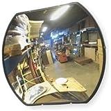 Vision Metalizers RMSB2436 Rectangular Acrylic Convex