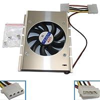 "3.5"" HDDハードディスクドライブクーラー冷却ファンヒートシンク28"