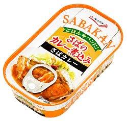 キョクヨー 極洋 SABAKAN さばのカレー煮込み 100g 缶(EOK5A)
