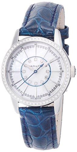 ハミルトンHAMILTON 腕時計 レイルロード レディ 60P+12P ダイヤ H40391691 レディース 【正規輸入品】
