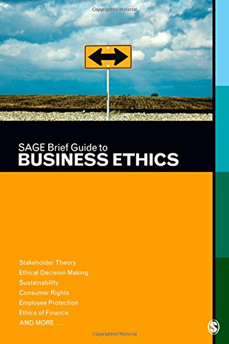 Download SAGE Brief Guide to Business Ethics 1412997216