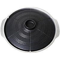 Korea Traditional Caldron蓋タイプBBQホットグリルパン/上部プレート11.8