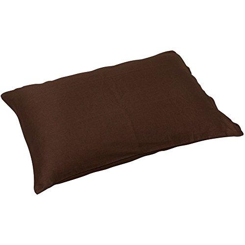 アイリスオーヤマ 枕カバー 43×63cm ブラウン CMP-4363