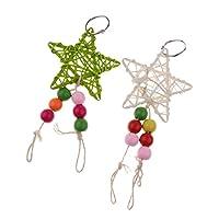 Fenteer 鳥 オウム 吊り 遊び 面白い おもちゃ 咀嚼玩具 歯のケア用品 訓練 おもちゃ 多種選べ - ## 12