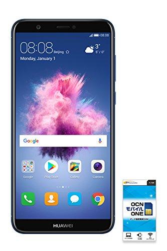 HUAWEI nova lite 2 【OCNモバイルONE SIMカード付】 (データSIM(ナノ), Blue)