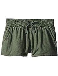 ロキシー Roxy Kids キッズ 女の子 ショーツ ハーフパンツ Olive Blaze of Light Shorts (Big Kids) [並行輸入品]