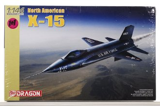 1/144 超音速実験機 ノースアメリカンX-15