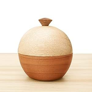 コアボトル 丸型 天然木 チェリー 骨つぼ 骨壺 仏具 手元供養 日本製 ALTAR