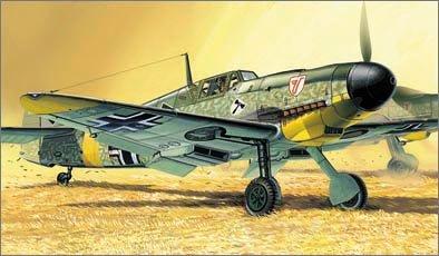 1/72 メッサーシュミット Bf109 F-4