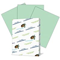 (500 Sheets, Green, Letter) - Hammermill Coloured Paper, Green Printer Paper, 11kg, 8.5x11 Paper, Letter Size, 500 Sheets / 1 Ream, Pastel Paper, Colourful Paper (104380R)
