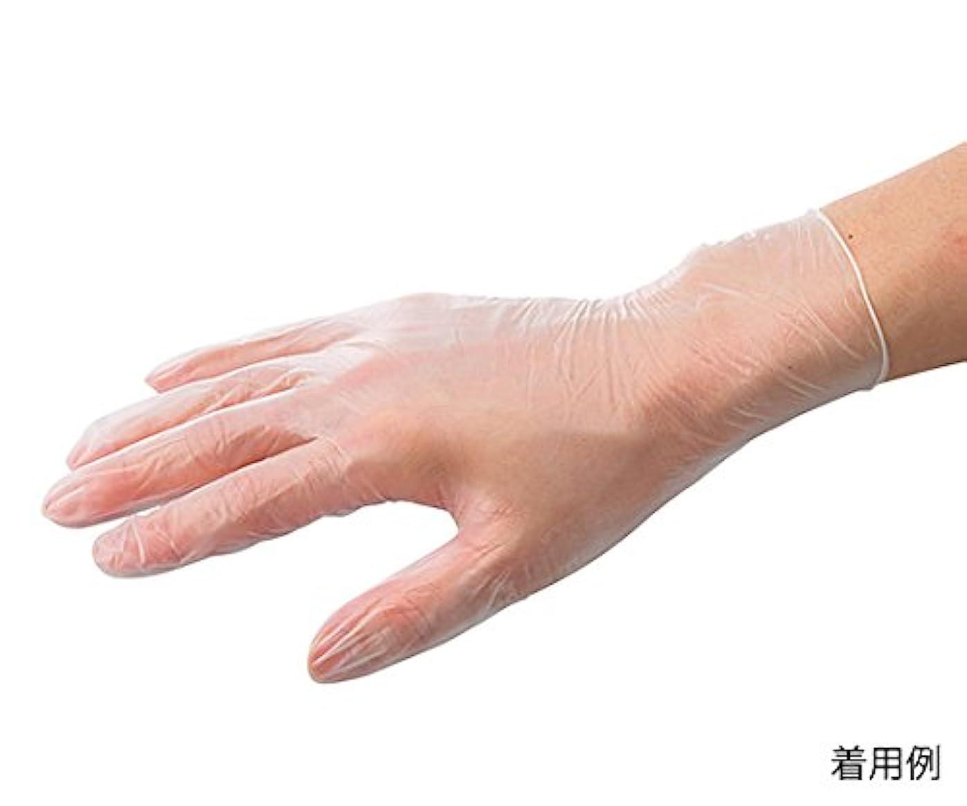 目覚めるボーダースムーズにARメディコム?インク?アジアリミテッド7-3727-01バイタルプラスチック手袋(パウダー付き)S150枚入
