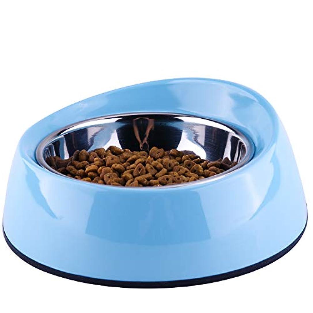 SuperDesign 犬猫用 ステンレスボウル 犬用ボウル 取り外し可能 ご飯とお水入れ両用 ペット用品 餌入れ 滑り止め 給餌器 食器
