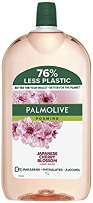 Palmolive Foaming Hand Wash Soap Japanese Cherry Blossom Refill and Save 0 percentage Parabens Dermatologicall