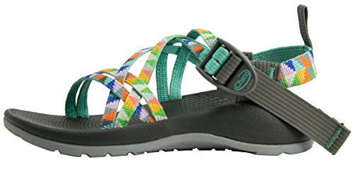 CAMPER TURQUOISE(J180234) 16.0cm(US10) (チャコ) Chaco キッズ ZX1 エコトレッド 12367014 (サンダル)