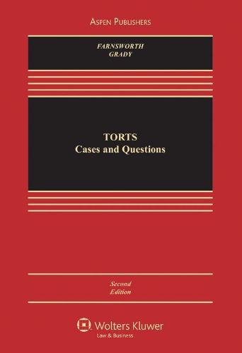 Download Torts: Cases and Questions (Aspen Casebook) 0735582947