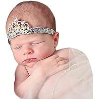 赤ちゃん女の子クラウンカチューシャヘアcocomarketプリンセスクリスタルパールヘアバンド
