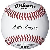 スーパーSeamテクノロジーLittle League ™ Baseballsからウィルソン – ケースof 10ダース