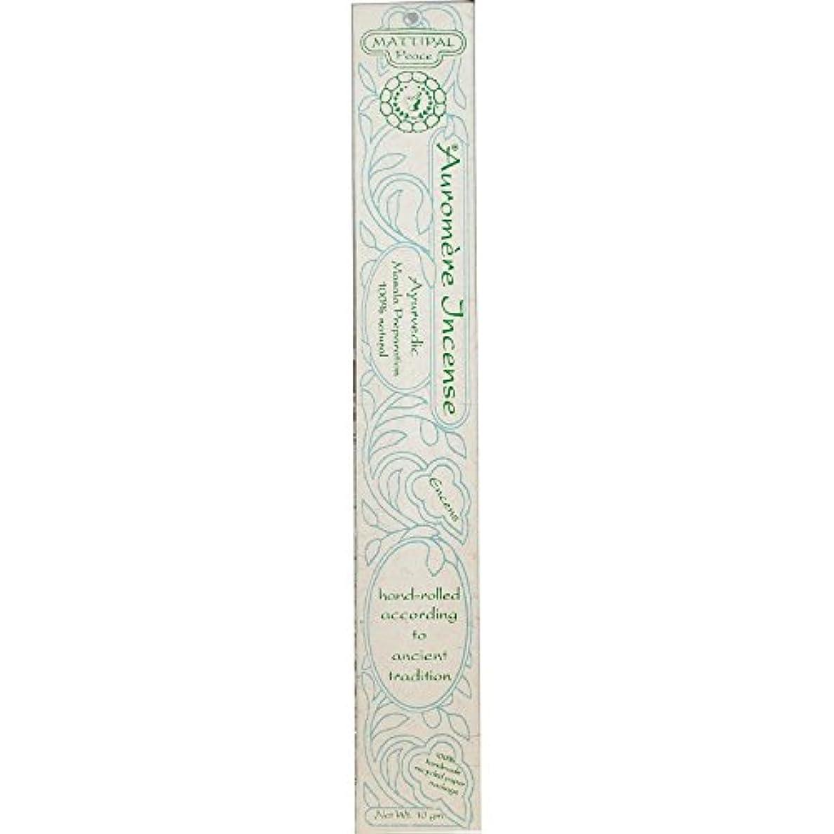 特許不正確走る海外直送品Ayurvedic Incense, Mattipal 10 Gms (Case of 12) by Auromere
