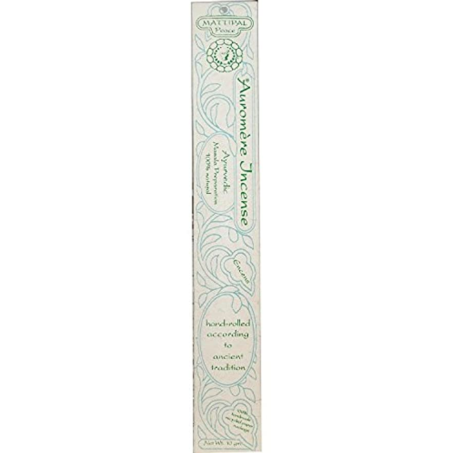 計画防ぐウェイトレス海外直送品Ayurvedic Incense, Mattipal 10 Gms (Case of 12) by Auromere