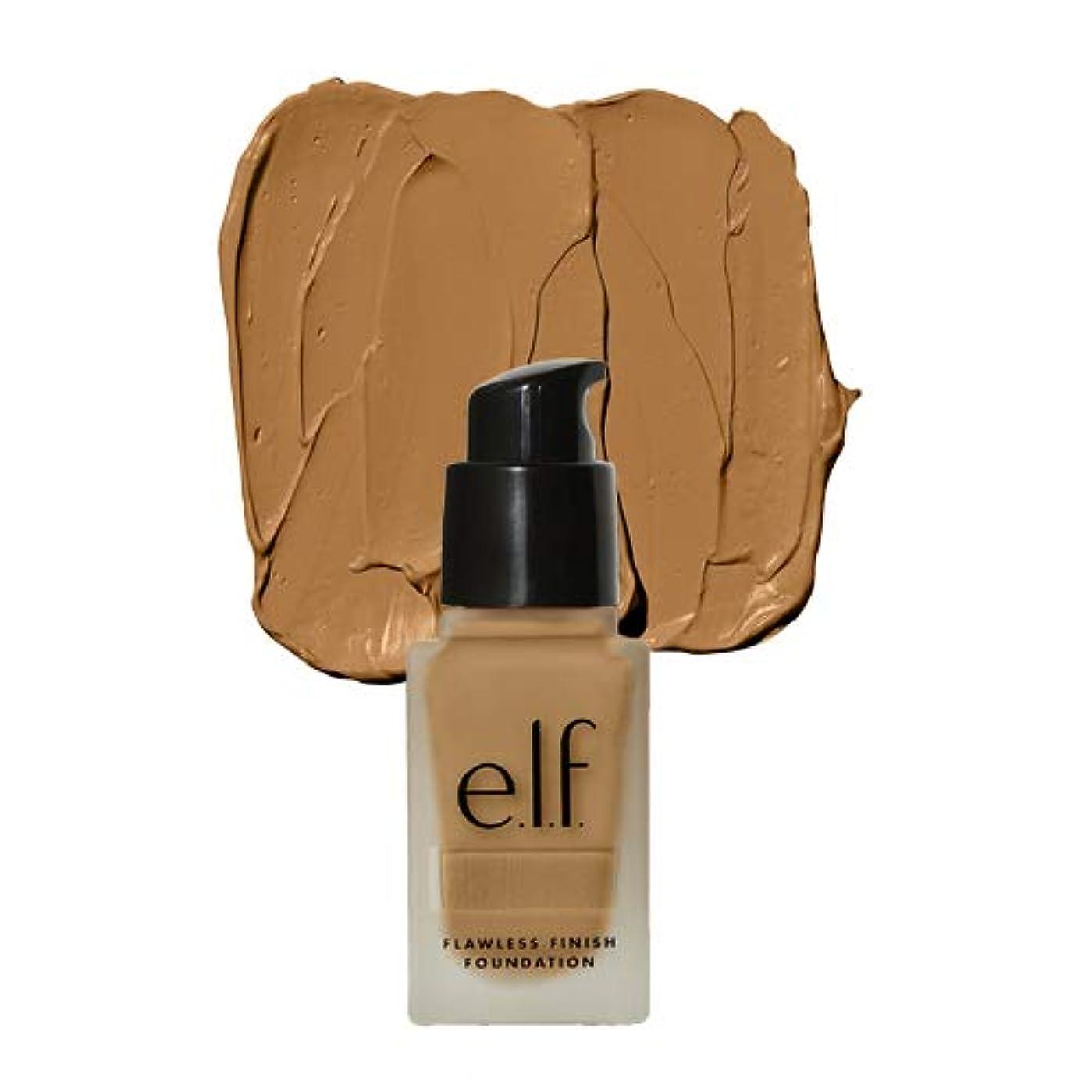 楽しい櫛融合(6 Pack) e.l.f. Oil Free Flawless Finish Foundation - Linen (並行輸入品)