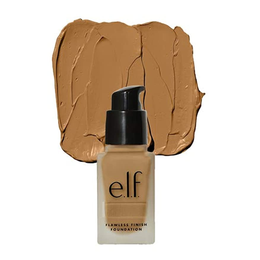 直立気絶させる結論(3 Pack) e.l.f. Oil Free Flawless Finish Foundation - Linen (並行輸入品)