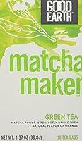 海外直送品Matcha Maker Green Tea, 18 Tea bags by Good Earth Teas