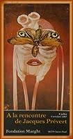 ポスター ジャック プレヴェール Papillon 1987 額装品 ウッドベーシックフレーム(オレンジ)