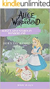 Alice in Wonderland : Disney Bedtime Story for Kids (English Edition)