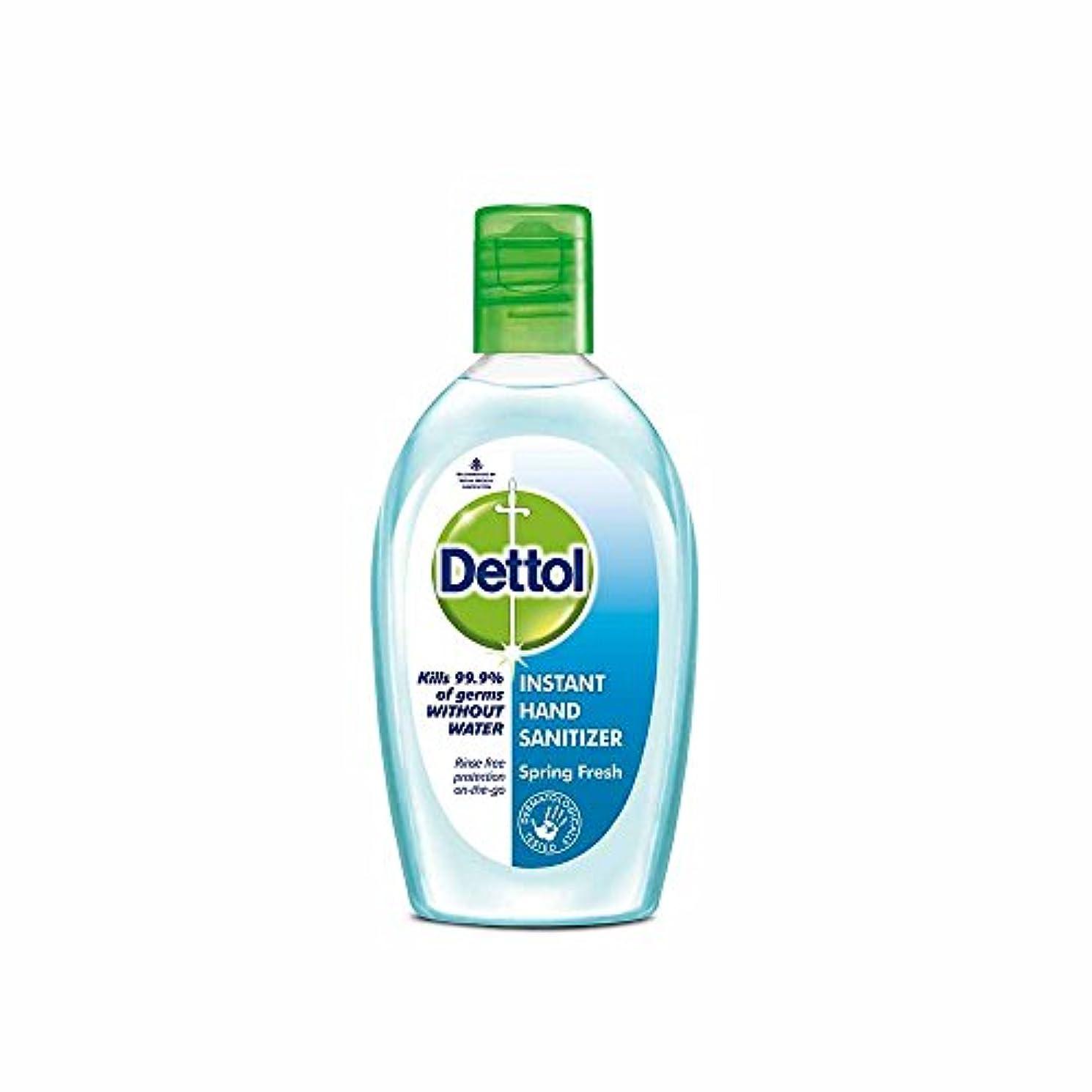 ワードローブ予言する指紋Dettol Instant Hand Sanitizer Spring Fresh - 50 ml