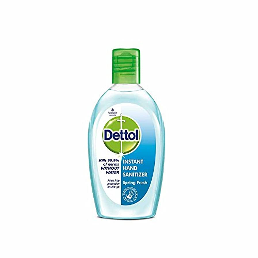 めまいバイソン火Dettol Instant Hand Sanitizer Spring Fresh - 50 ml