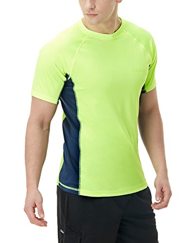 (テスラ)TESLA メンズ 水着 半袖 ラッシュガード スイムシャツ [UVカット UPF50+・吸汗速乾] スイムウェア スイミング SWIM MSS01-LMV_2XL