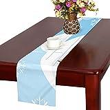 GGSXD テーブルランナー すばやい ハスキー クロス 食卓カバー 麻綿製 欧米 おしゃれ 16 Inch X 72 Inch (40cm X 182cm) キッチン ダイニング ホーム デコレーション モダン リビング 洗える