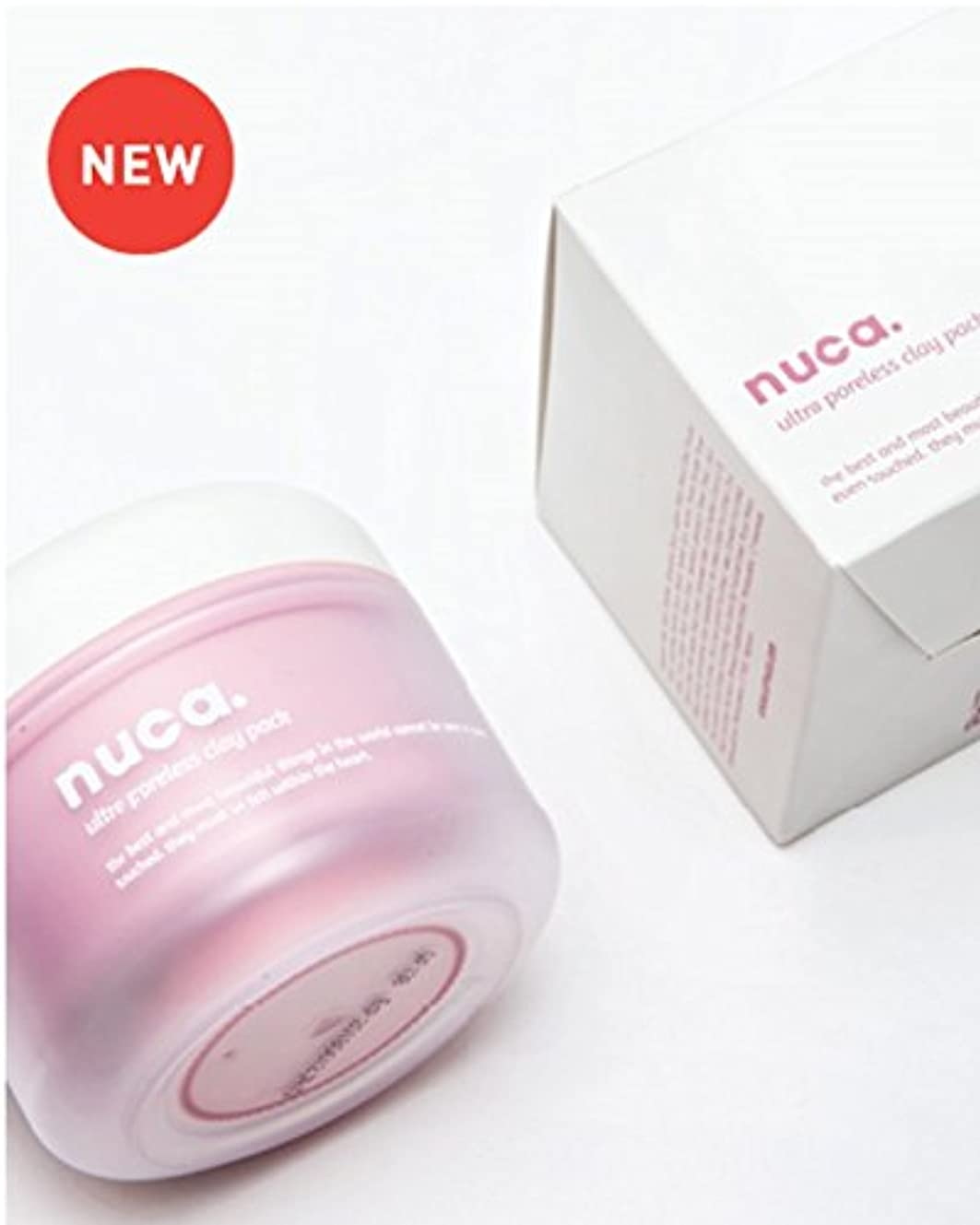 文言農村振り向く[NUCA]ツヤのある肌のために!! ウルトラ・フォアレス・クレイパック(Ultra Poreless Clay Pack) [並行輸入品]
